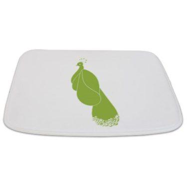 Peacock 4 Bathmat