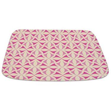 Pink and Beige Pattern 3 Bathmat