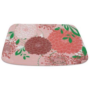 Pretty Asian-Inspired Mums 04 Bathmat