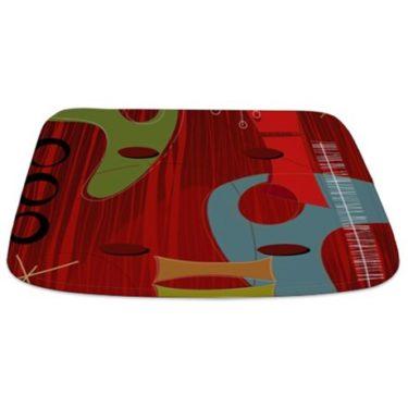 Retro 60s 1b Bathmat