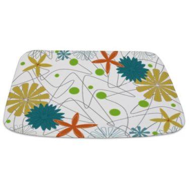 Retro 60s 3b Bathmat