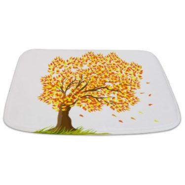 Seasonal Tree Fall Bathmat