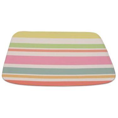 Stripes Pastel Beach Bathmat