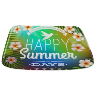 Summer Days 5 Bathmat
