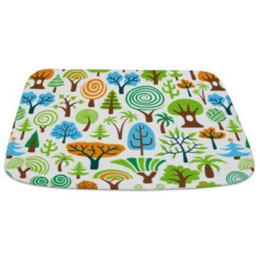 tree-seamless1 Bathmat