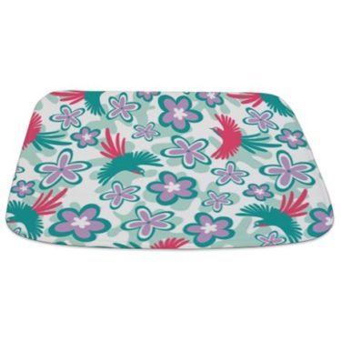 tropical birds Bathmat