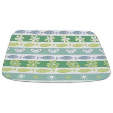 tropical fish 2 Bathmat