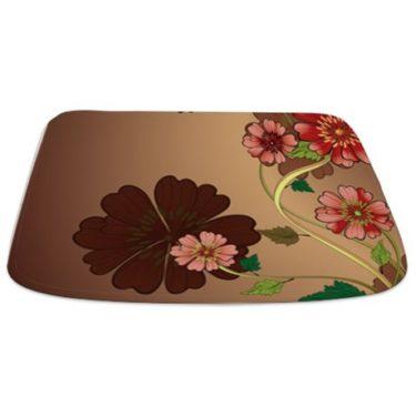 Vintage Floral Bathmat